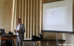 Hubert Méchin présente Drugee à la conférence Doctors 2.0 & You le 23 mai 2012
