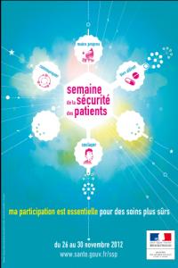 Affiche de la semaine de la sécurité des patients